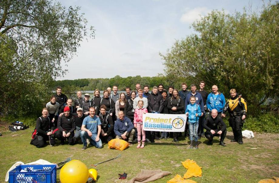 Clean Up dag 26 april 2015 Nionplas Raamsdonksveer